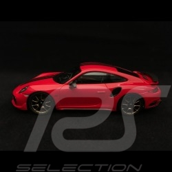 Porsche 911 Turbo S Exclusive Series 991 2017 1/43 Spark WAP0209060J rouge red rot