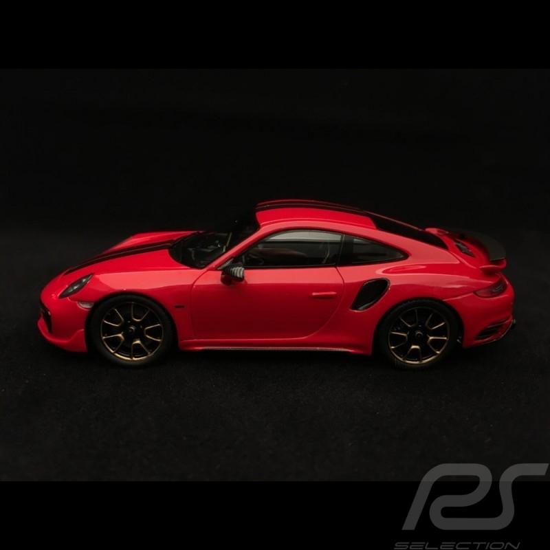 Porsche 911 Turbo S Exclusive Series 991 2017 red 1/43 Spark WAP0209060J