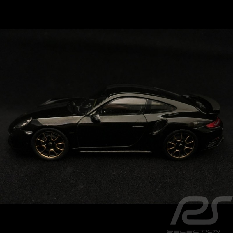 Porsche 911 Turbo S Exclusive Series 991 2017 black 1/43 Spark WAP0209050J