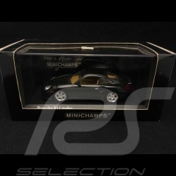 Porsche 911 type 996 Turbo 1999 green 1/43 Minichamps 430069310