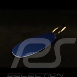 Porte-clés Porsche laqué bleu / chrome Porsche Museum MAP06610212 keyring Schlüsselanhänger