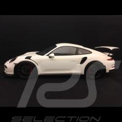 Porsche 911 GT3 RS type 991 2015 1/12 Spark 12S006 blanche white weiß
