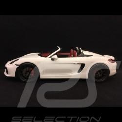 Porsche Boxster Spyder 981 white 1/18 Spark 18S237