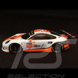 Porsche 911 RSR type 991 24h du Mans 2017 n° 86 Gulf Racing UK 1/43 Spark S5839