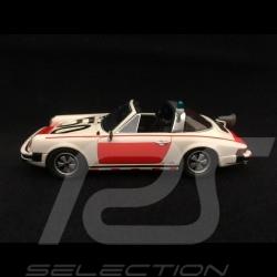 Porsche 911 Targa 1975 Rijskpolitie 1/43 Schuco 450891400