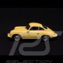 Porsche 356C Coupé 1963 gelb 1/43 Minichamps 430062327