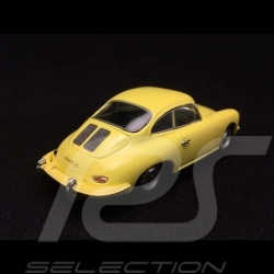 Porsche 356C Coupé 1963 yellow 1/43 Minichamps 430062327