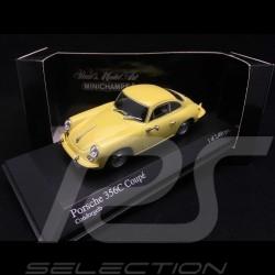 Porsche 356C Coupé 1963 jaune 1/43 Minichamps 430062327