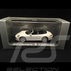 Porsche 911 type 991 Carrera S Cabriolet 2012 Carraraweiss 1/43 Minichamps WAP0200130C