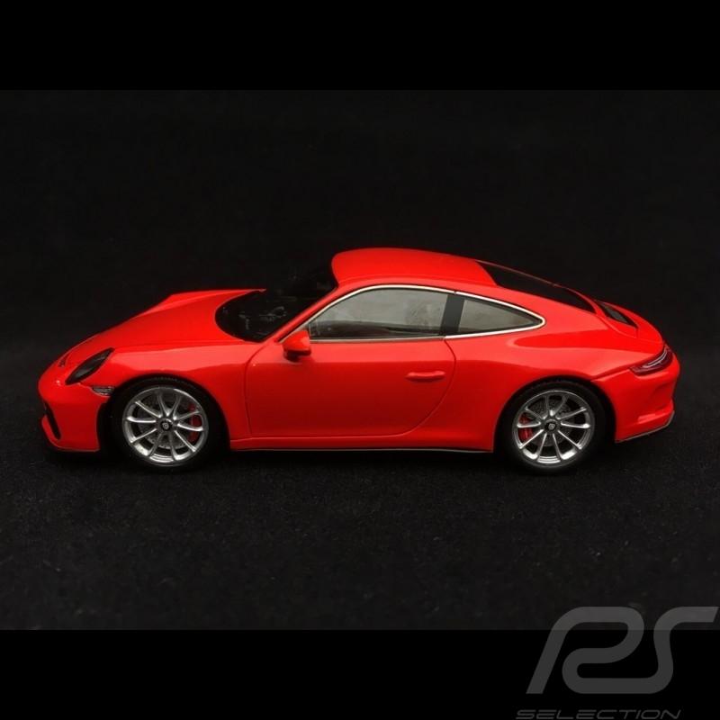 Porsche 911 GT3 type 991 Touring Package 2017 Lava orange 1/43 Spark WAP0201640J
