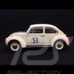 Volkswagen VW Coccinelle Beetle Käfer n° 53 Herbie / Choupette 1/18 Norev S1800505