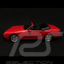 Porsche 968 Cabriolet 1994 red 1/43 Minichamps 400062330