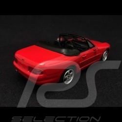 Porsche 968 Cabriolet 1994 rot 1/43 Minichamps 400062330