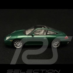 Porsche 911 type 996 Targa 2001 green 1/43 Minichamps 400061062