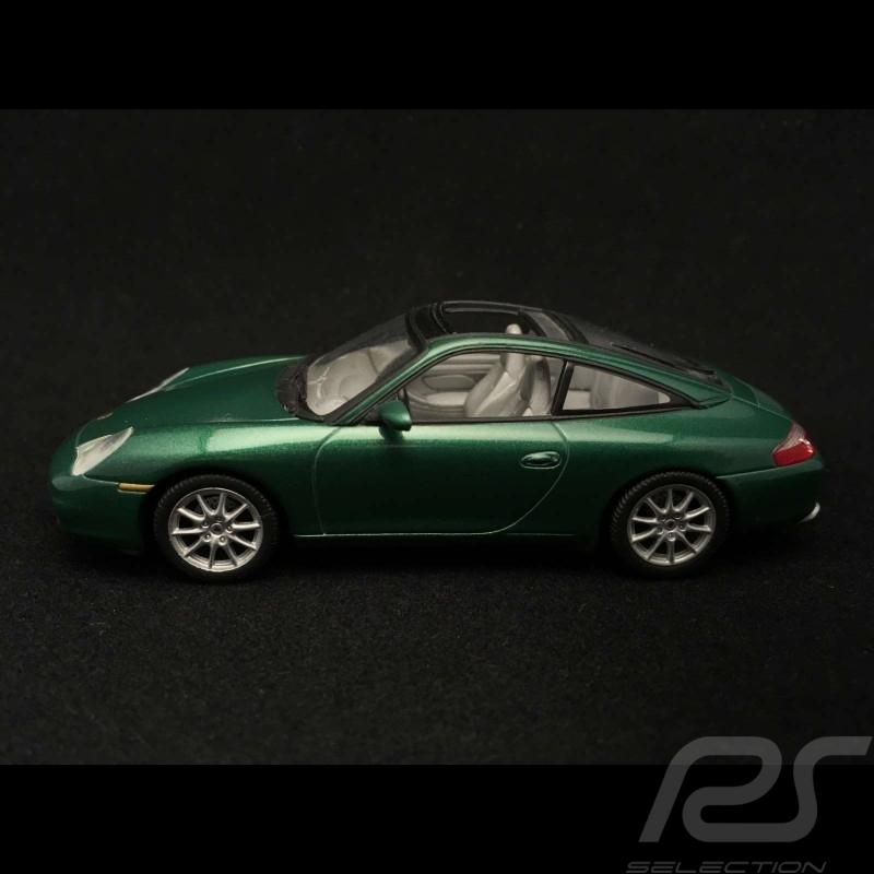 Porsche 911 type 996 Targa 2001 verte 1/43 Minichamps 400061062