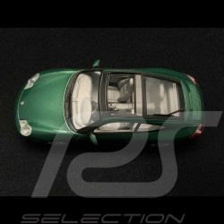 Porsche 911 type 996 Targa 2001 green 1/43 Minichamps 400061062