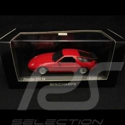 Porsche 928 S4 1991 rouge 1/43 Minichamps 400062421