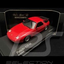 Porsche 928 S4 1991 rot 1/43 Minichamps 400062421