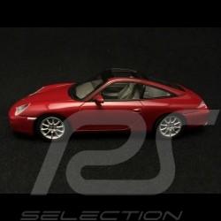 Porsche 911 type 996 Targa rouge 1/43 Minichamps WAP02006510