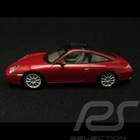 Porsche 911 type 996 Targa rot 1/43 Minichamps WAP02006510