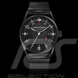 Automatic watch Porsche 1919 Globetimer All Black Porsche Design Timepieces 4046901418229