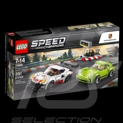 Duo Porsche 911 RSR and Porsche 911 Turbo 3.0 Speed Champions Lego 75888