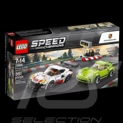 Duo Porsche 911 RSR et Porsche 911 Turbo 3.0 Speed Champions Lego 75888