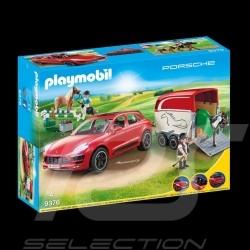 Porsche Macan GTS Playmobil 9376 avec remorque van trailer anhanger
