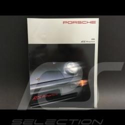Porsche Broschüre 911 RS America type 964 in Englisch 1993