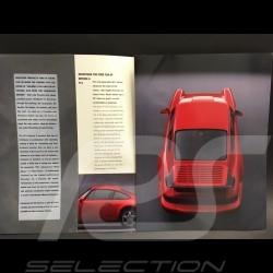 Brochure Porsche 911 RS America type 964 en anglais 1993