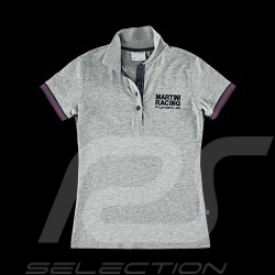 Polo Porsche Martini Racing Collection gris Porsche Design WAP921 - femme