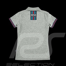 Polo Porsche Martini Racing Collection Porsche Design WAP921 - femme / Women / Damen gris grey grau