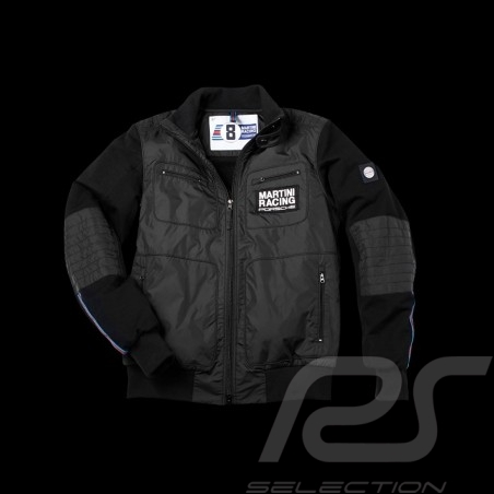 Veste Jacket Jacke Porsche Martini Racing Collection Porsche Design WAP552 - homme men Herren bi-matière noir bi-material black