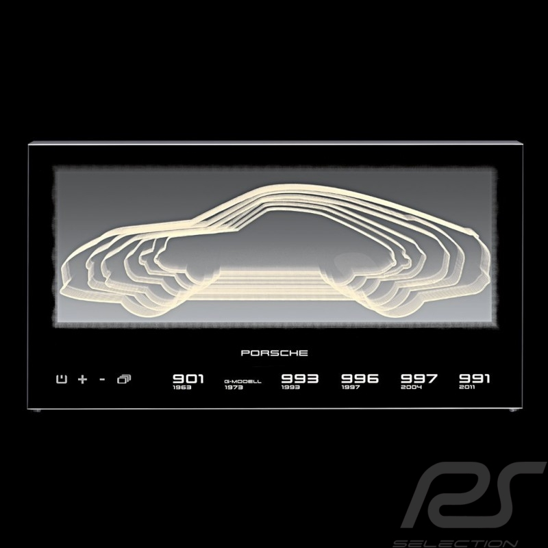 Ganz und zu Extrem Porsche 911 Evolution illuminated display Porsche Design @VS_56
