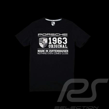 Porsche T-shirt classic 1963 black Porsche design WAP872 - men