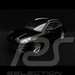 Porsche Macan Turbo 2013 noir 1/43 Minichamps WAP0201520E