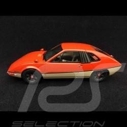 Porsche 914 /6 Heuliez Murène 1970 Orange / Beige 1/43 Autocult ATC06012