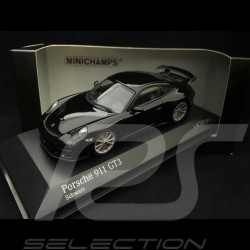 Porsche 911 GT3 type 991 phase II 2017 1/43 Minichamps 413066029 noir black schwarz