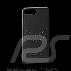 Porsche Hard case for I-phone 8 Plus leather material black Porsche WAP0300230K