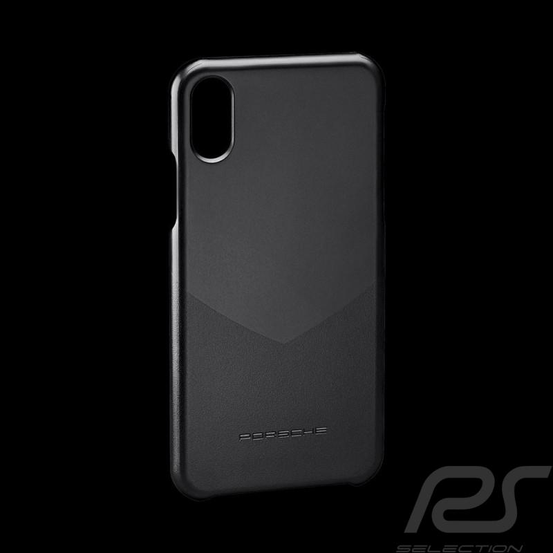 Porsche Hard case for I-phone X polycarbonate material black WAP0300240K