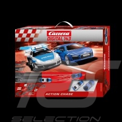 Bahnset Carrera Digital Porsche / Audi Action chase 1/43 Carrera 20040033