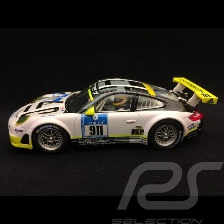 Slot car Porsche 911 GT3 RSR Nürburgring 2016 n° 911 Manthey 1/32 Carrera 20030780