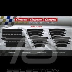 Bahnset Carrera Verlängerungspaket n° 1 1/24 1/32 Evolution Carrera 20030788