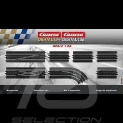 Circuit Carrera Pack d'extension n° 2 1/24 1/32 Carrera 20030367 Track Extension Pack Bahnset Carrera Verlängerungspaket