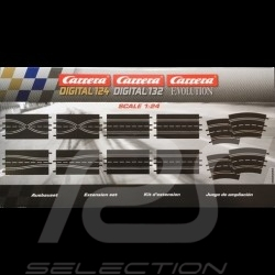 Circuit Carrera Pack d'extension n° 4 1/24 1/32 Evolution Carrera 20026956 Track Extension Pack Bahnset Carrera Verlängerungspak