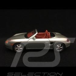 Porsche Boxster 986 1999 silbergrau 1/43 Schuco WAP020019
