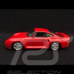 Porsche 959 1987 1/43 Minichamps 400062521 rouge Indien India red Indischrot