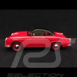 Porsche Teram Puntero base 356 1958 rouge 1/43 Autocult ATC02014