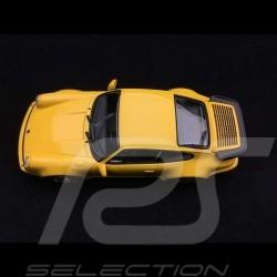 Porsche 911 type 964 Turbo 1990 1/43 Minichamps 940069104 jaune Vitesse Speed yellow Speedgelb