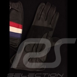 Driving Gloves Racing black leather